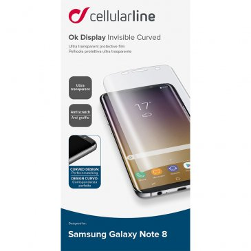 Fólia ochranná CellularLine na Samsung Galaxy Note 8